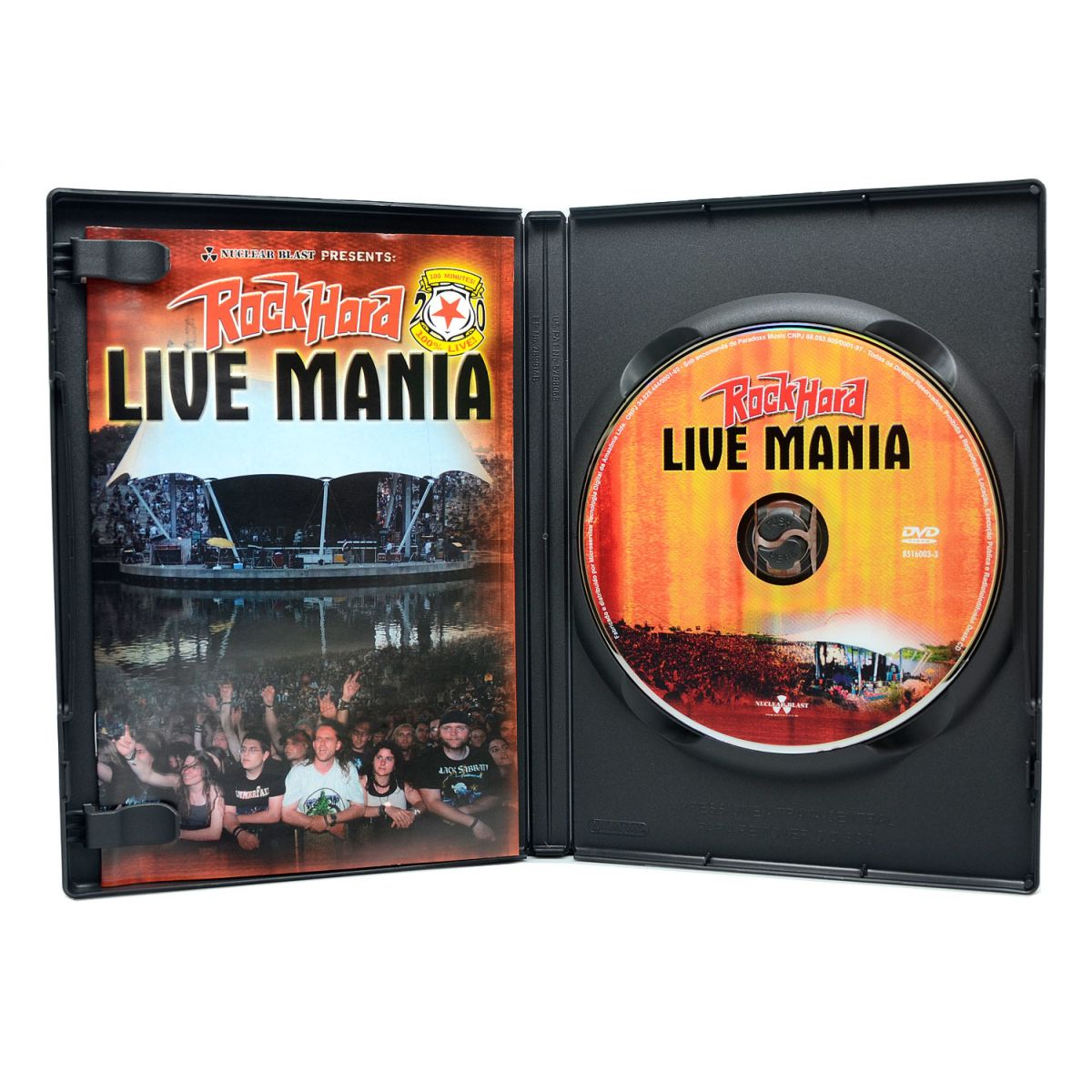 DVD Rock Hard Live Mania - Kreator Doro In Flames