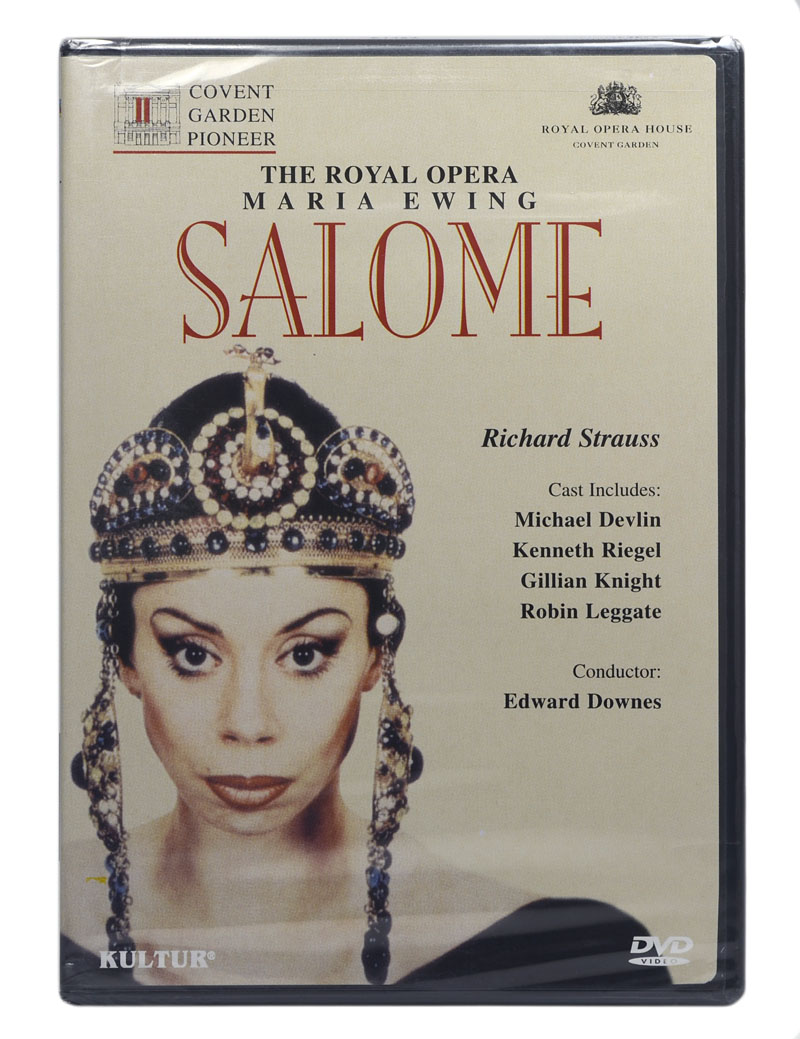 DVD Salome - The Royal Opera - Maria Ewing / Richard Strauss - Lacrado