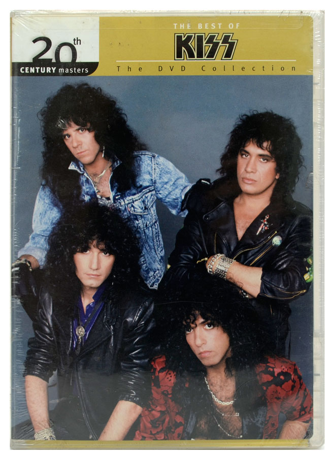 DVD The Best Of Kiss - 20th Century Masters - Importado - Lacrado