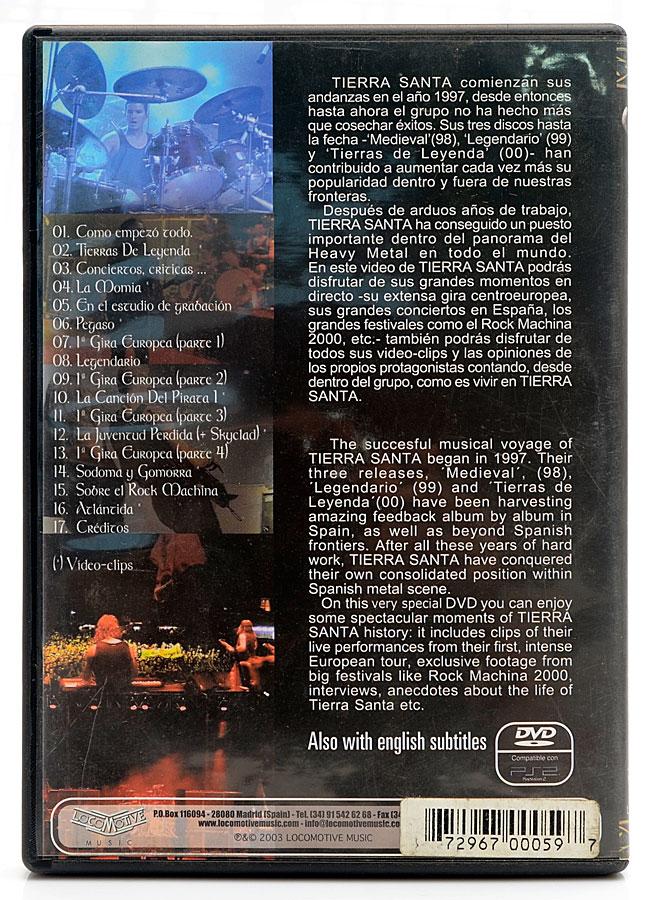 DVD Tierra Santa - Cuando La Tierra Toca El Cielo - Importado