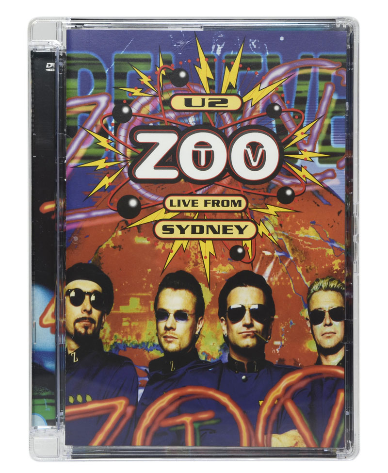DVD U2 - Zoo TV Live From Sydney (Importado - EUA) - Lacrado