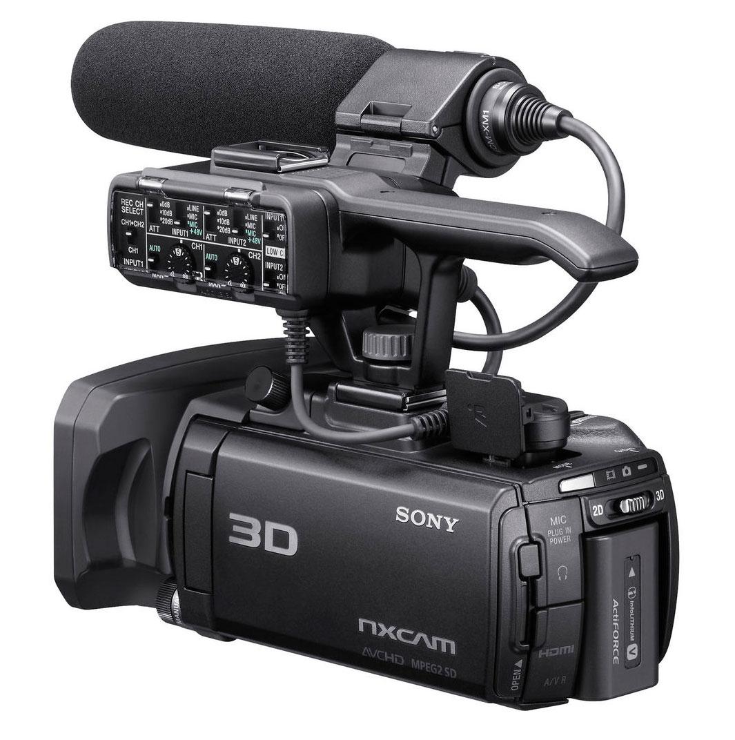 Filmadora SONY 3D HXR-NX3D1 96GB High Definition - NF - Garantia - Na Caixa