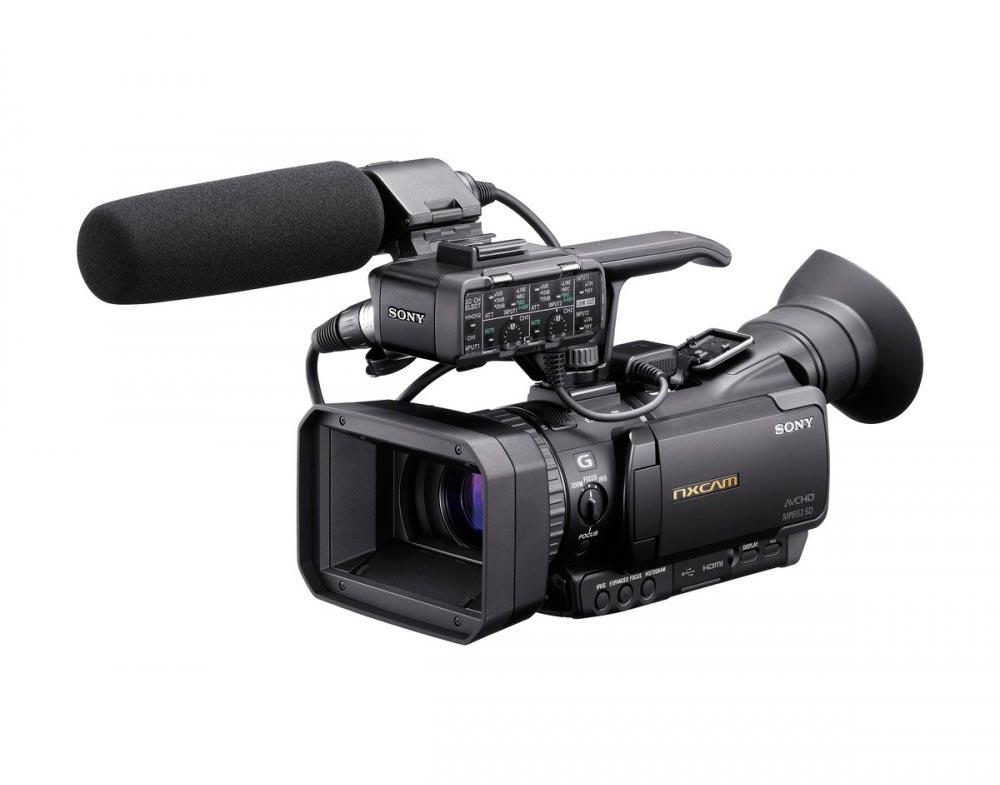 Filmadora SONY HXR-NX70N NXCAM à Prova de Poeira e Chuva - Sensor CMOS Exmor R de 1/2,88 polegadas
