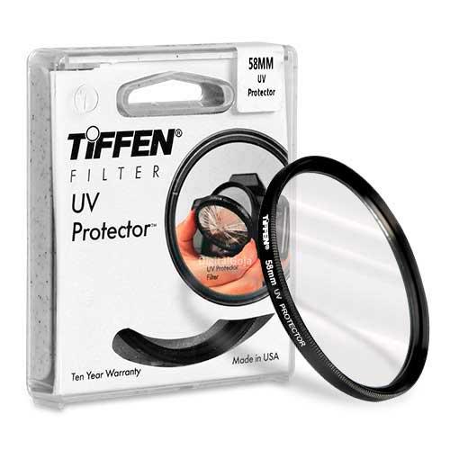 Filtro Protetor UV Tiffen 58mm 58UVP - Original