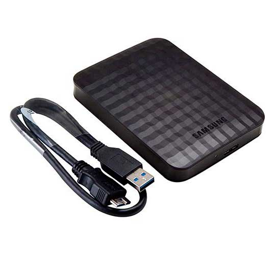 HD Externo Portátil M3 Samsung 500GB USB 3.0 HX-M500TCB/G