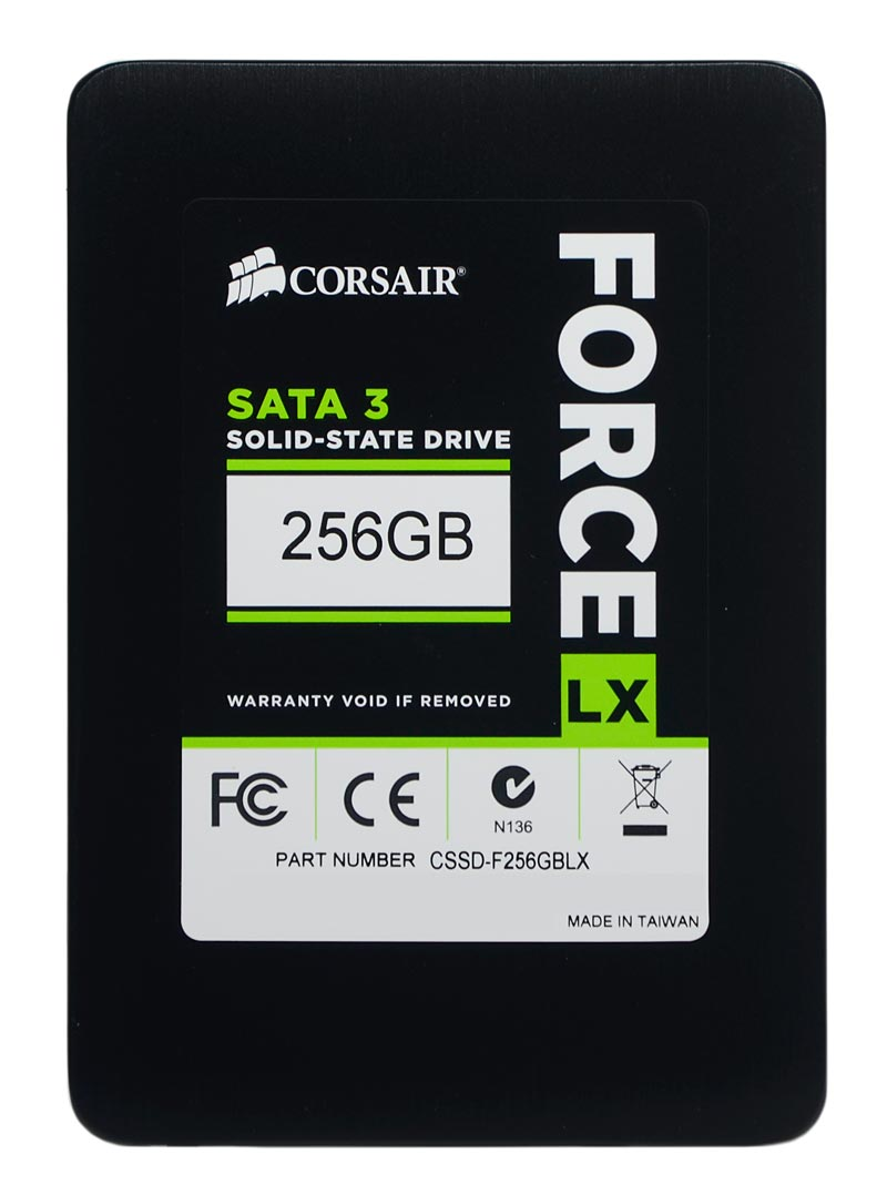 HD SSD Corsair Force LX 256GB SATA 3 2.5