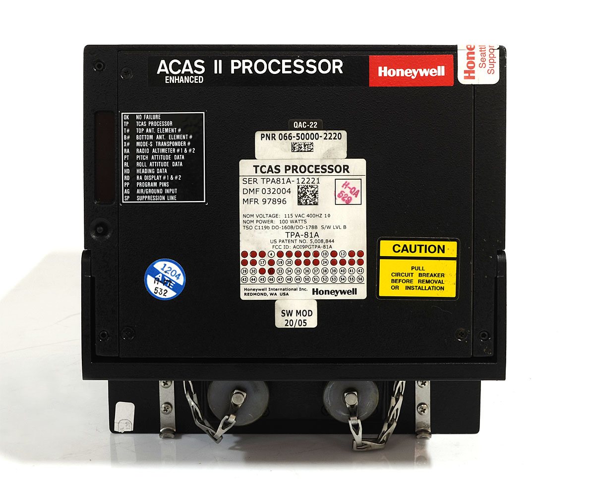 Honeywell ACAS II Processor TPA-81A PN: 066-50000-2220