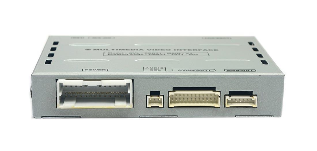 Interface Multimídia Desbloqueio Porsche Cayenne, Panamera 2010 c/ CDR-3.1 Head Unit - CDR31 - 1011 - 002