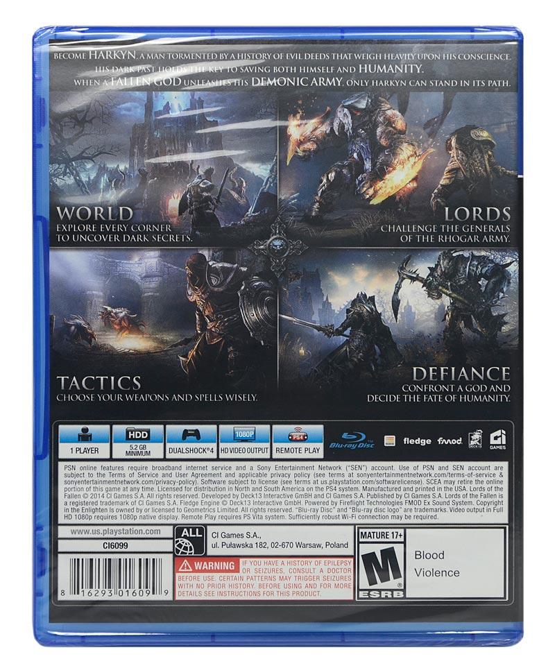 Jogo Lords Of The Fallen PS4 - Lacrado - Original