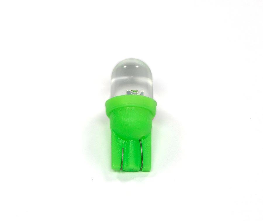 Lampada Pingo 1 Led Verde Gota T10 W5w 12V
