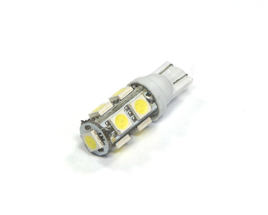 Lampada Pingo 9 Leds SMD T10 W5w - Super Branca Xenon