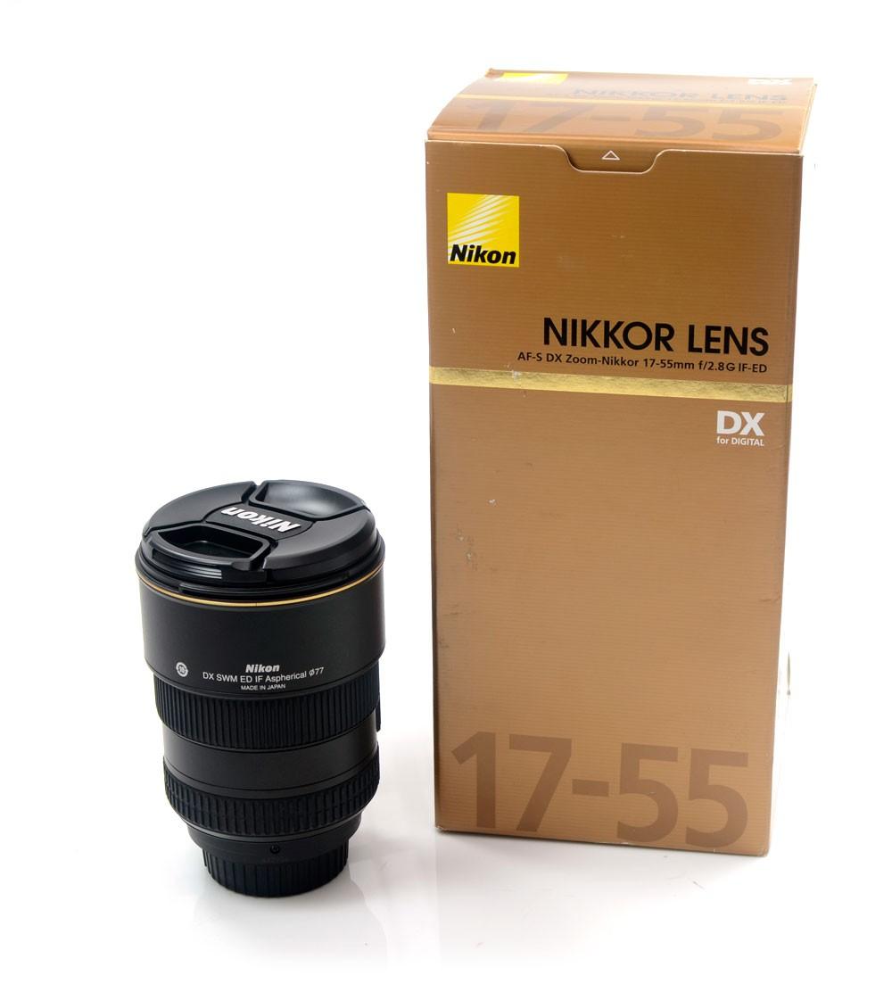 Lente Nikon AF-S DX Zoom-NIKKOR 17-55mm 2.8G IF-ED