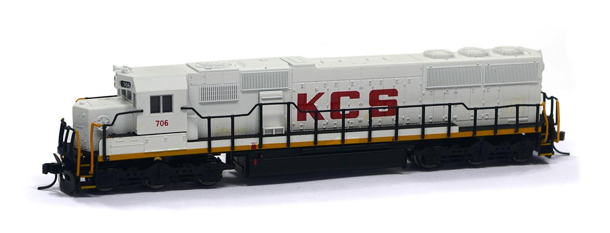 Locomotiva SD-50 Kansas City Southern 706 N Scale - Atlas Model Railroad - #49391