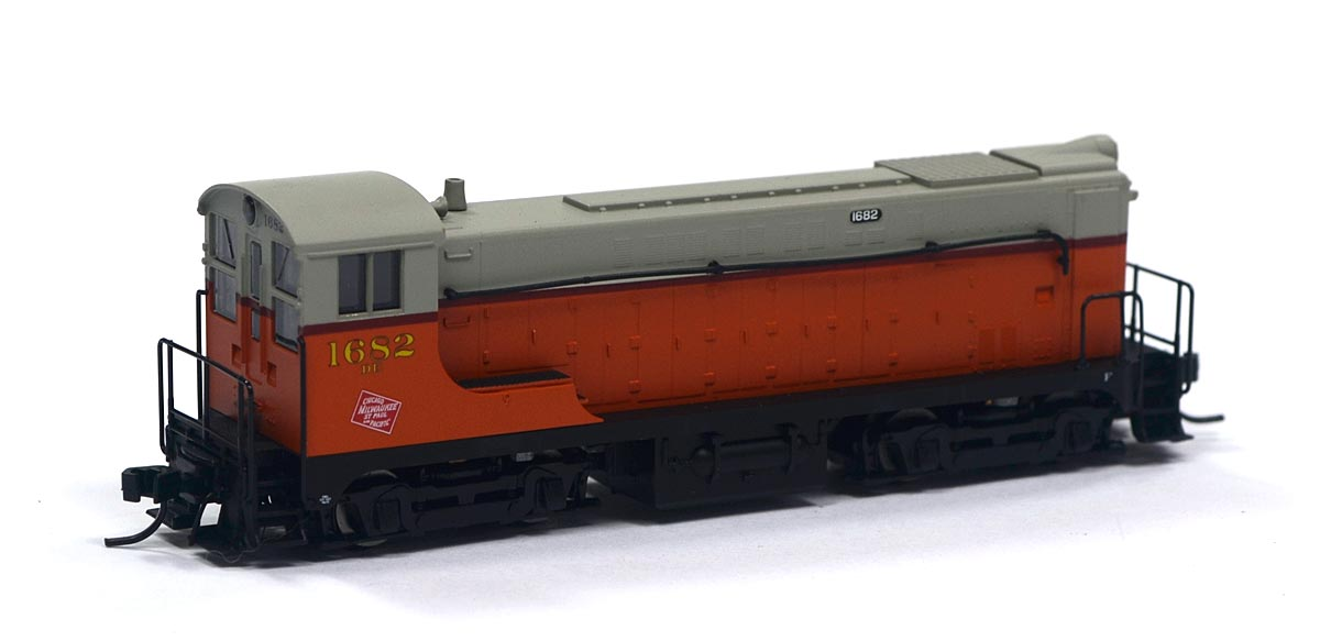 Locomotiva VO-1000 Milwaukee Road 1682 N Scale - Atlas Model Railroad - #50039
