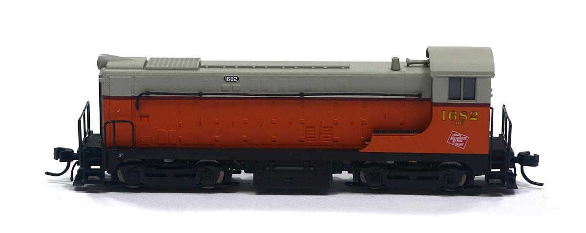 Locomotiva VO-1000 Milwaukee Road 1682 N Scale - Atlas Model Railroad - #50039
