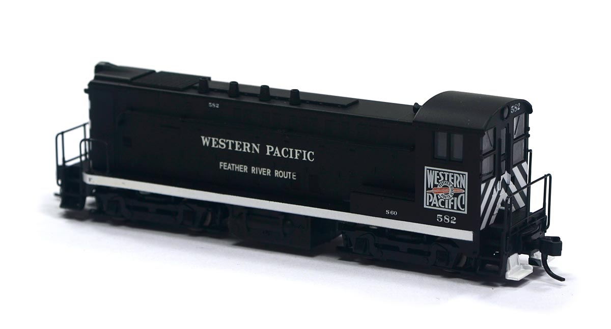 Locomotiva VO-1000 Western Pacific 582 N Scale - Atlas Model Railroad - #51053