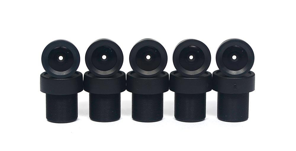 Lote 10 Mini Lente 3.6mm p/ Micro e Mini Câmera c/ CCD 1/3