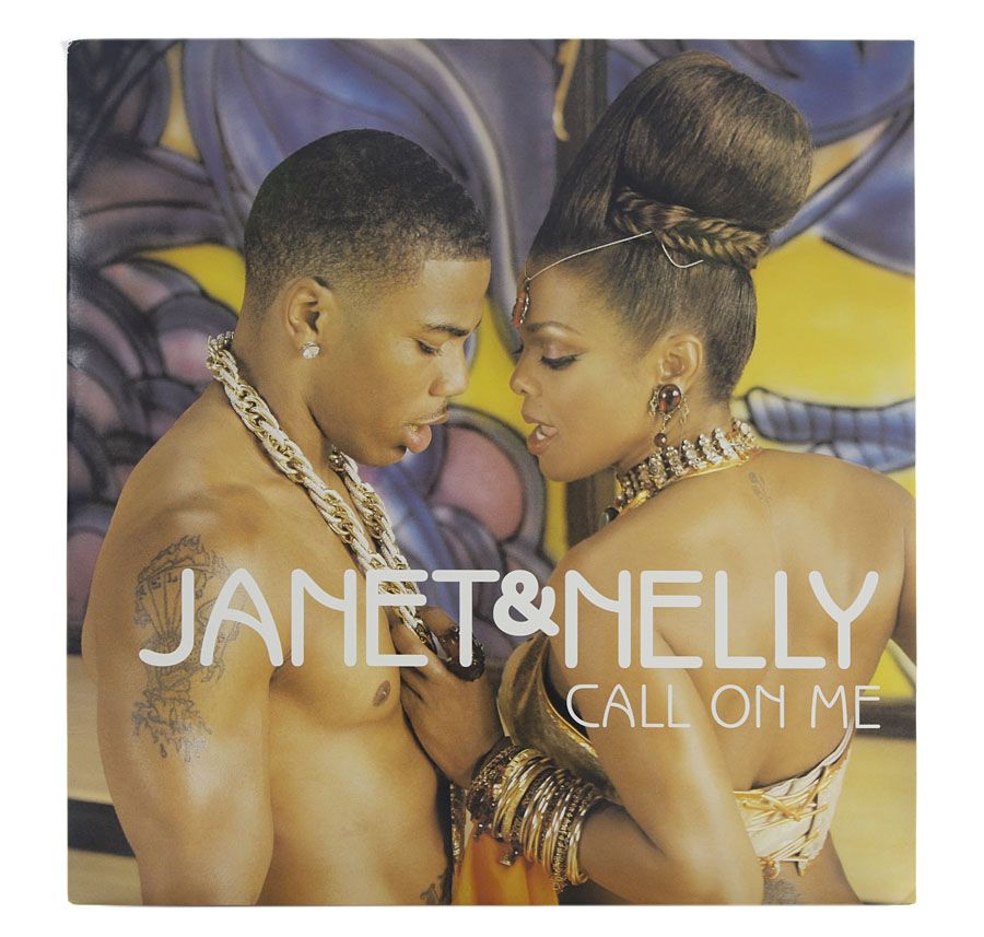 Lp Vinil Janet & Nelly - Call On Me (Importado EU)