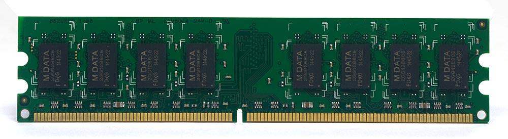 Memória Desktop 2GB DDR2 800mhz PC6400 P/ PC Chip Mdata