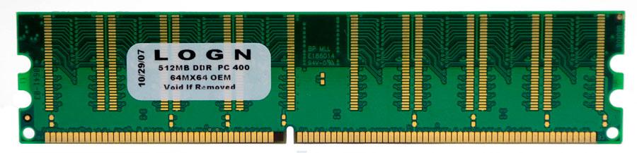 Memória Desktop Logn 512MB DDR 400MHZ PC3200