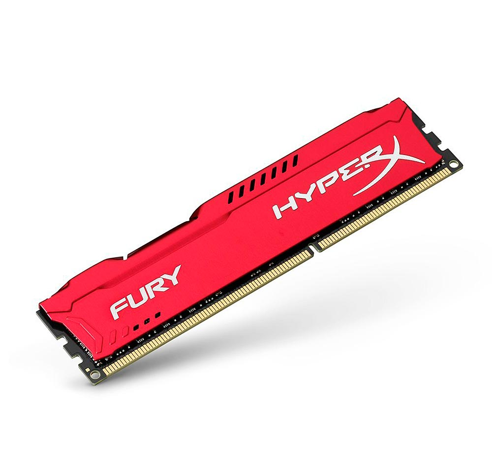 Memória Gamer Kingston HyperX FURY 8GB DDR3 1600Mhz CL10 Dimm - HX316C10FR / 8