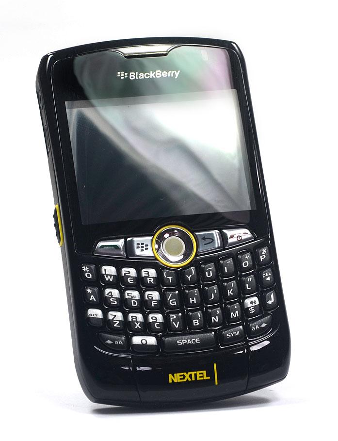 Nextel Blackberry Curve 8350i Preto C/ Bateria e Carregador