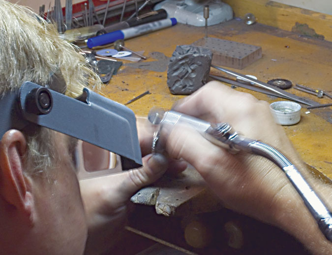 Peça de Mão de Engate Rápido Foredom 10D - Handpiece
