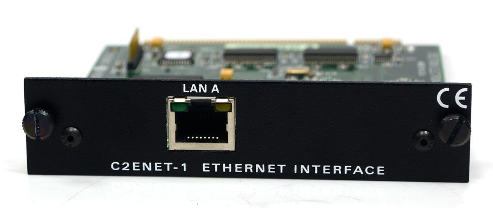 Placa de Rede Ethernet Card Crestron C2ENET-1 - Outbox