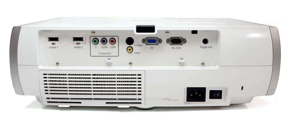 Projetor Epson EH-TW3500 1800 Lumens 36000:1 Contraste 2 HDMI S/ Controle Remoto