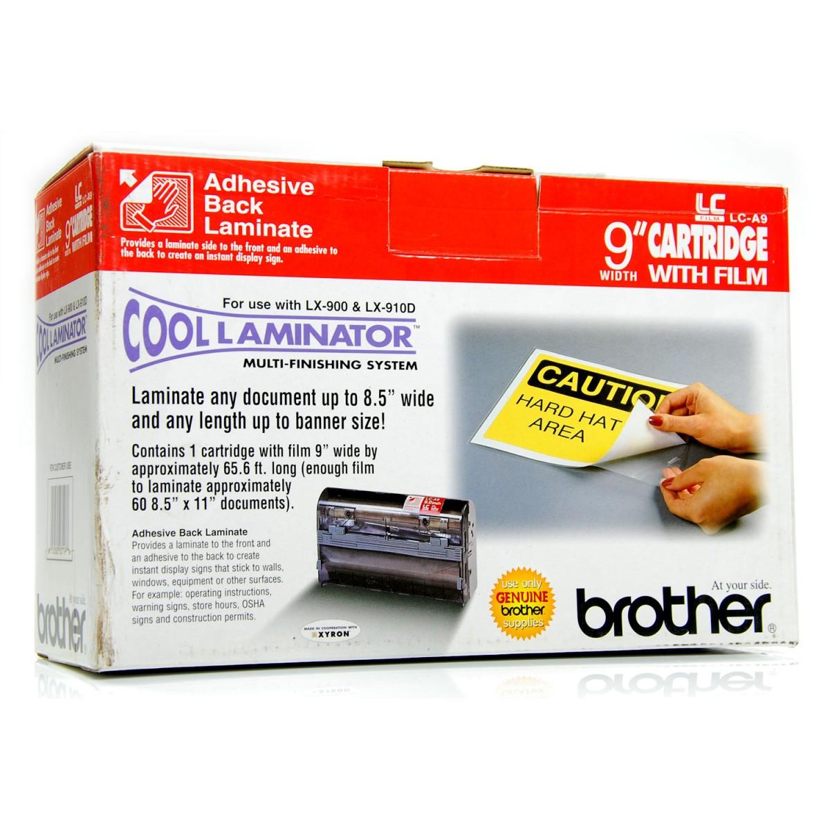 REFIL BROTHER LX-900 & LX-910D - COOL LAMINATOR LC-A9 Adesive - Box