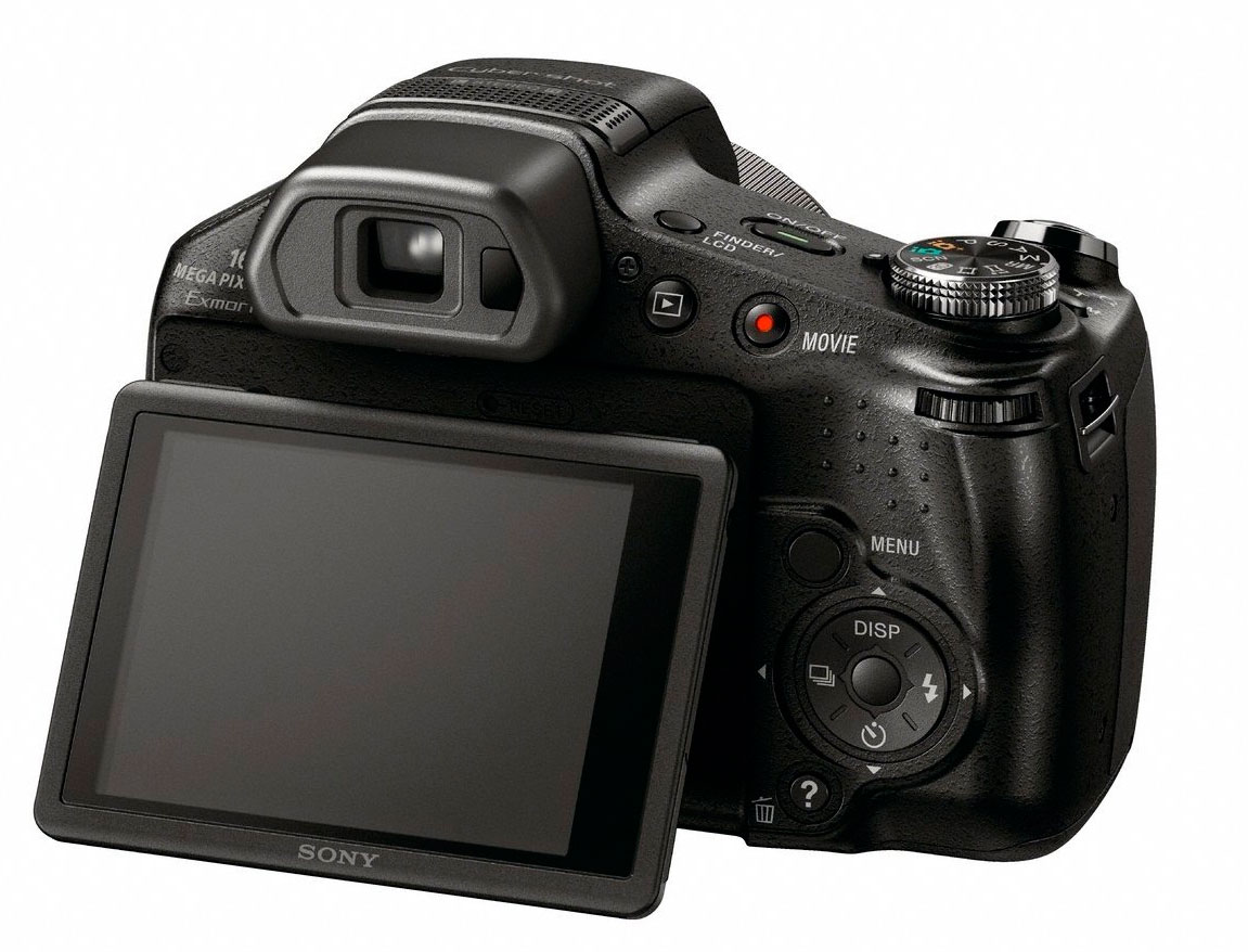 Sony DSC-HX100V 16.2MP Exmor R CMOS 30x Zoom Full HD - Na Caixa