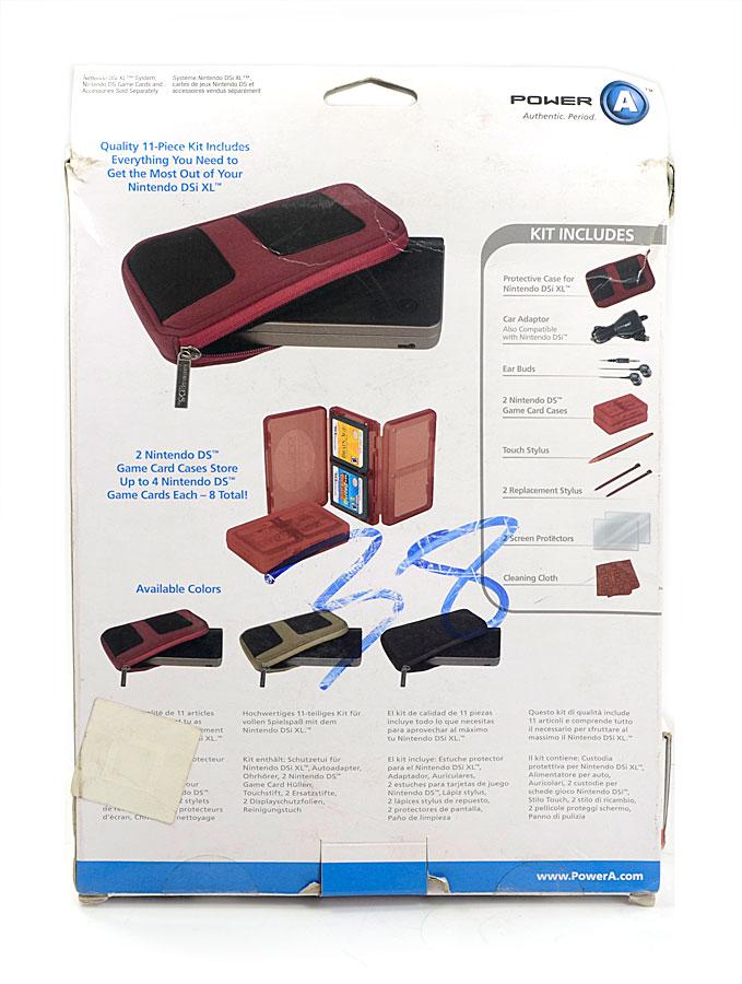 Starter Kit Nintendo DSi XL Case Preto