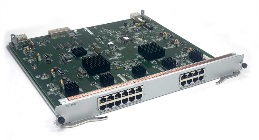 Switch 3com 10/100/1000base-t  3C16863 7700 20 PORTAS