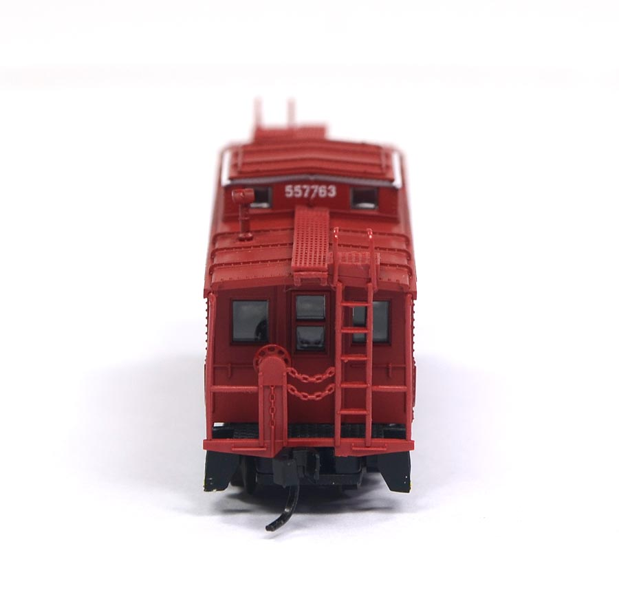 Vagão NE-6 Caboose Norfolk & Western 557763 N Scale - Atlas Model Railroad - #33543