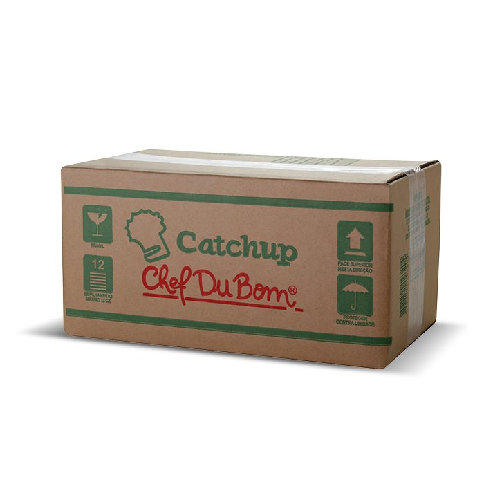 SACHE CATCHUP CHEF DU BOM 7G CX 192 UNI. (COD 13821)  - Chef Distribuidora
