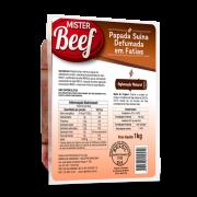 BACON FATIADO PAPADA MISTER BEEF 1KG ( COD. 636)