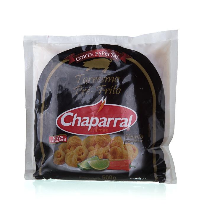 TORRESMO PRÉ FRITO CHAPARRAL 500g 1 Pcte (COD. 19627)  - Chef Distribuidora Bambini