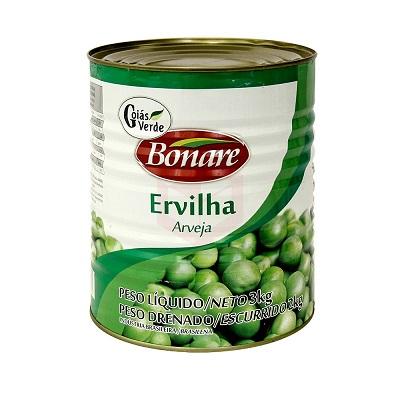 ERVILHA GOIAS VERDE BONARE 2 Kg 1 Lata (COD. 14587)  - Chef Distribuidora Bambini