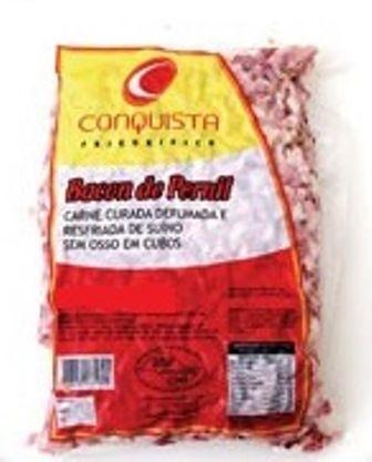 BACON DE PERNIL EM CUBOS 5MM PCT. 1.800KG (COD 20636)  - Chef Distribuidora