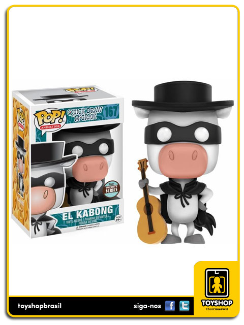 Quick Draw McGraw: El Kabong Exclusive Pop - Funko