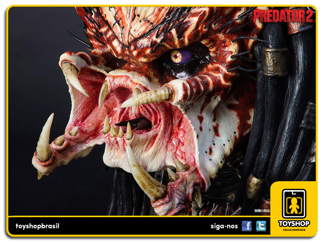Predator 2 Life-Size Bust Prop Replica  - Sideshow Collectibles