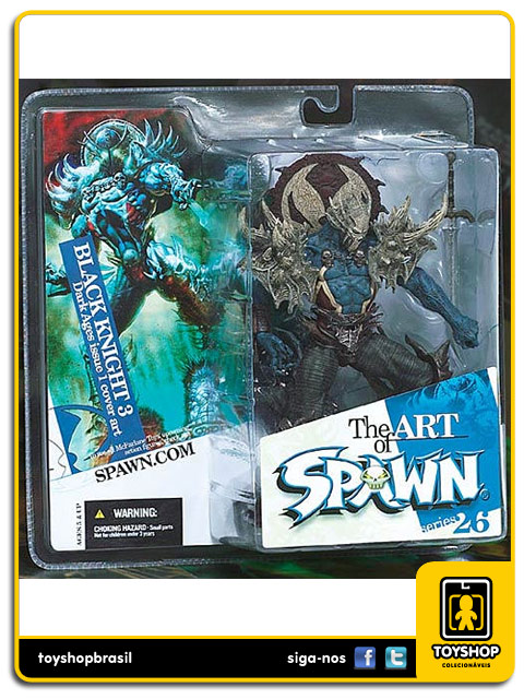 The Art of Spawn 26: Black Knight Dark Ages Issue 1 Cover art - Mcfarlane