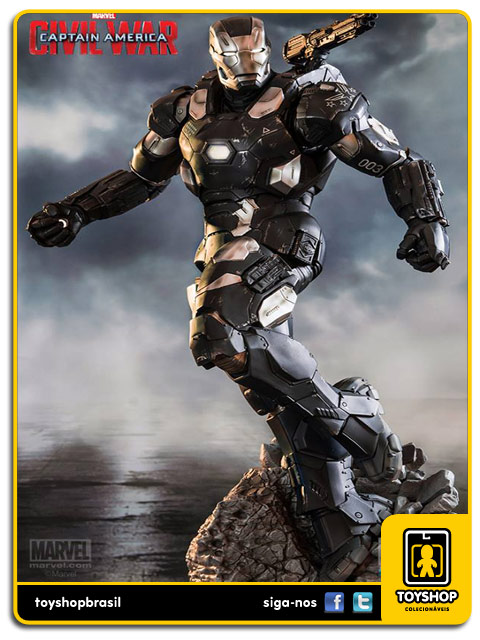 Captain America Civil War: War Machine Legacy 1/4 - Iron Studios