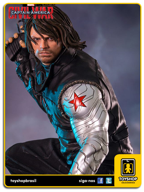 Captain America Civil War: Winter Soldier Legacy 1/4 - Iron Studios