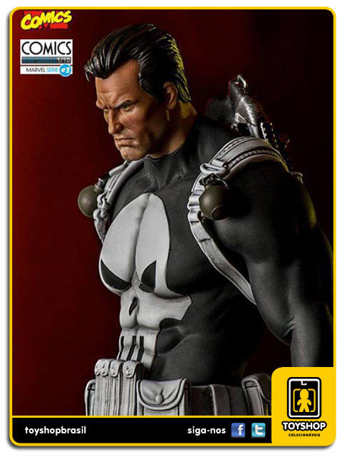 Marvel Comics Série 3 Punisher 1/10 Art Scale Iron Studios