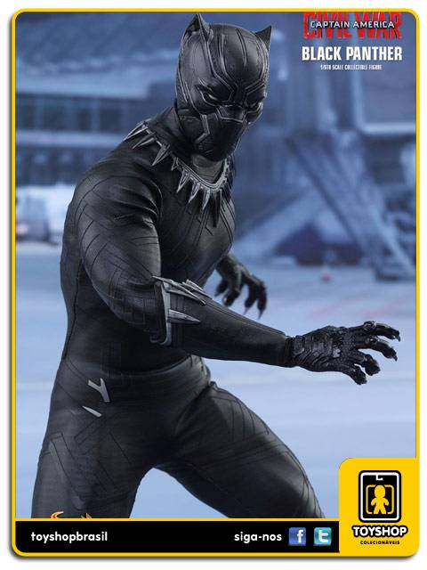 Captain America Civil War  Black Panther   Hot Toys