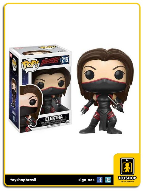 Marvel Daredevil Elektra 215  Pop  Funko