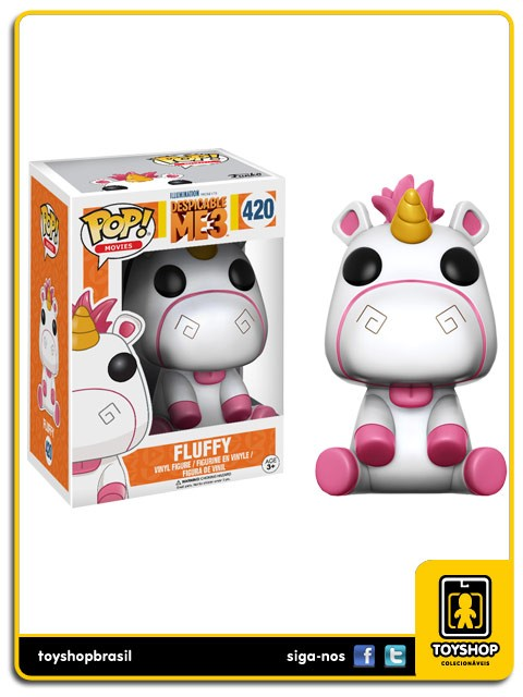 Meu Malvado Favorito 3  Fluffy 420 Pop Funko