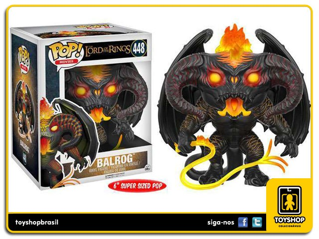 The Lord of the Rings Balrog 448 Pop Funko