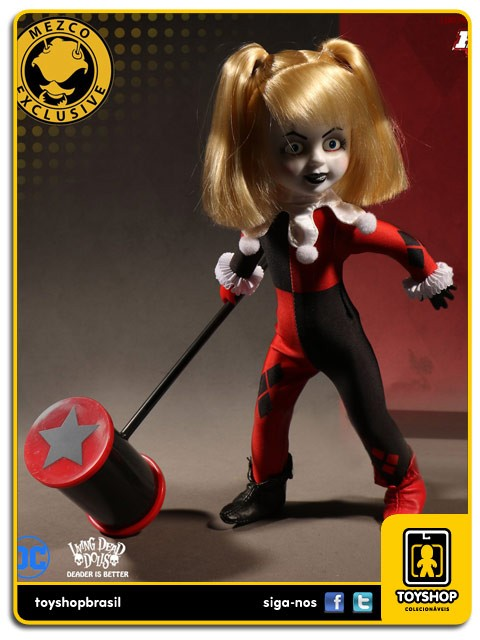 Living Dead Dolls Presents Classic Harley Quinn Unmasked SDCC  Mezco